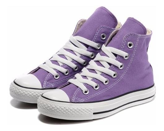 Zapatillas Mujer Botita Converse All Star Hi Lilac