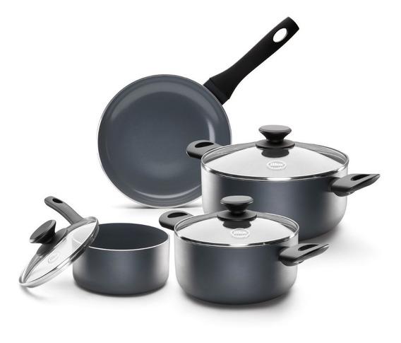 Set Batería Cocina De Ceramica 7 Pzas Ilko