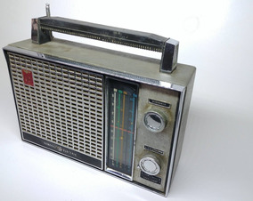 Radio Transistor General Eletric Antiguidade Funciona Raro