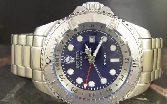 Relógio Invicta Reserve Pro Diver Hydromax Gmt Suiço 16959