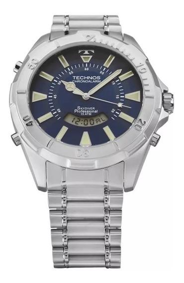 Relógio Technos Skydiver Masculino Grande T205fm/1a Original