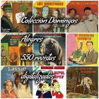 Domingos Alegres 550 Revistas Digitales De Envío Gratuito