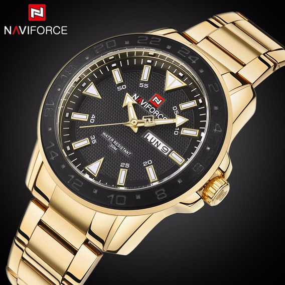 Relógio Masculino Militar De Quartzo Naviforce
