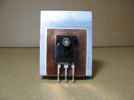 Transistor Mosfet Stw11nk100z Dissipador W11nk100z