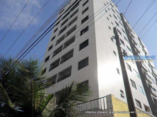 Imagem 1 de 22 de Apartamento Com 2 Dorms, Tupi, Praia Grande - R$ 320.000,00, 75m² - Codigo: 3144 - V3144
