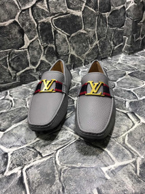 Mocasines Louis Vuitton Grises