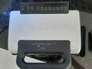 Parrilla Eléctri Grill Ultracompac Moulinex C/caja Y Acc