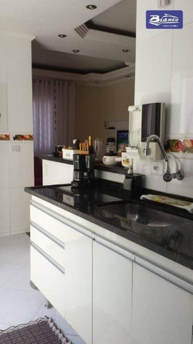 Imagem 1 de 30 de Casa Com 3 Dormitórios À Venda, 210 M² Por R$ 590.000,00 - Jardim Testae - Guarulhos/sp - Ca1067