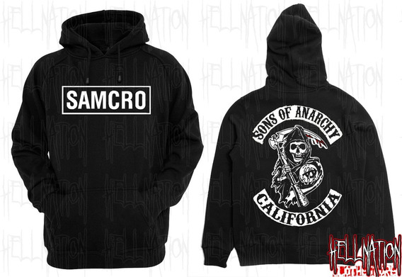 Sweaters Sons Of Anarchy En Serigrafia.