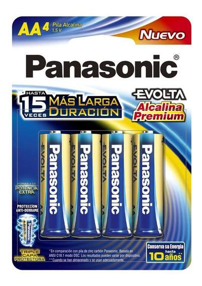 Pila Panasonic Evolta Alcalina Aa C/4 1.5v Lr6egl/4b