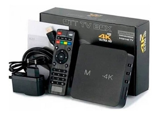 Convertidor Android Tv Box 4k - Convierte Tv En Smart