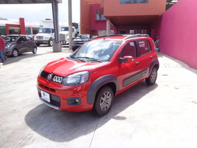 Fiat Uno Way Manual 2015 Rojo Alpino
