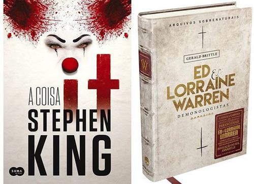 Livro It A Coisa + Ed E Lorraine: Arquivos Sobrenaturais