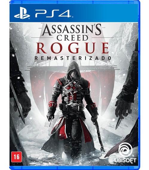 Assassins Creed Rogue Remasterizado - Ps4 - Novo - Física