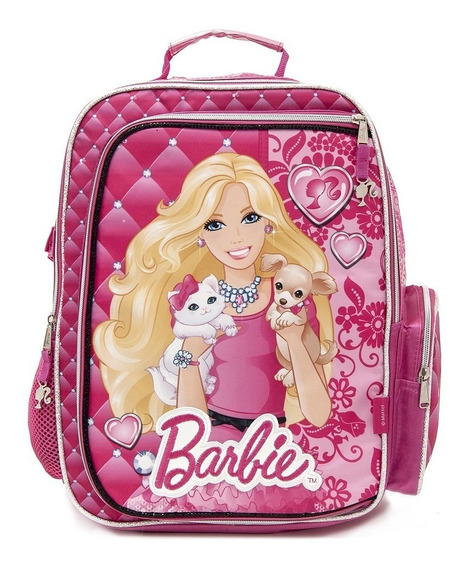 Mochila Barbie Room Espalda 15 Pulgadas