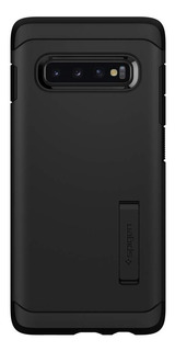 Funda Spigen Samsung S10 Plus Tough Armor Case Genuina