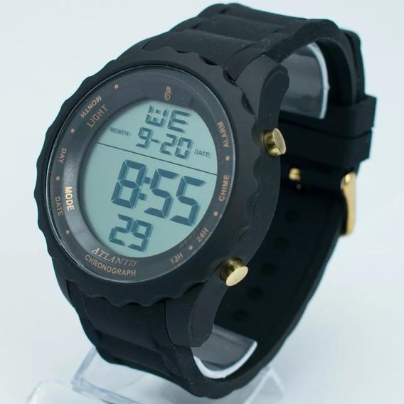 Relógio Digital Masculino Esportivo + Brinde