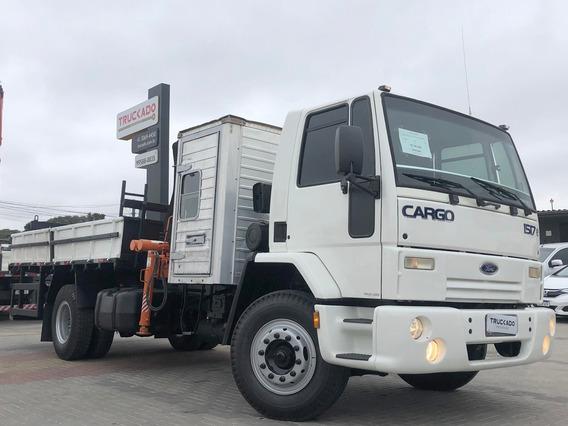 Ford Cargo 1517 Ano 2011 4x2 Munck Argos 9.5 2h 3m=masal