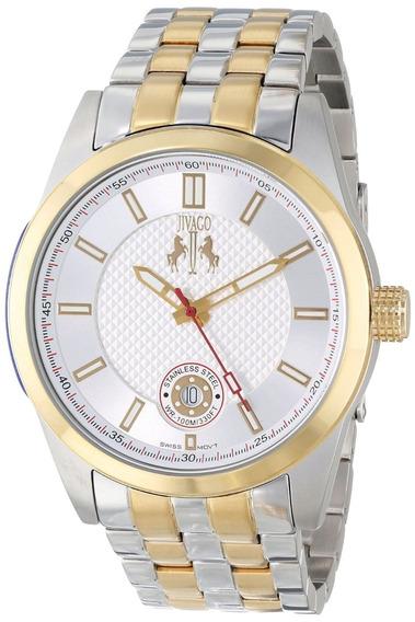 Reloj Jivago Rush Acero Inoxidable Dos Tonos Hombre Jv7112