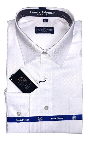 Camisas Blancas Louis Feraud Manga Larga De Vestir 102405