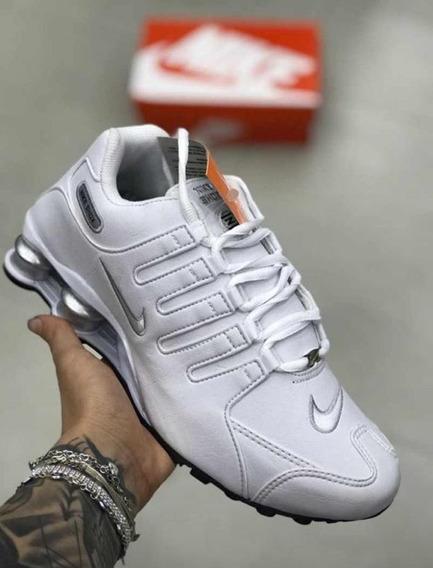 Tênis Masculino Nike Shox 4 Molas Feminino Pronta Entrega