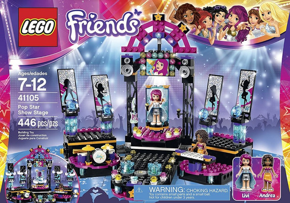 Lego Friends 41105 Pop Star: Escenario 446 Pzs(50u)