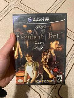 Resident Evil Zero Nintendo Gamecube Usado Original