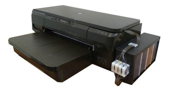 Impressora Hp 7110 A3 + Bulk Ink Tanque Grande 1 Lt De Tinta