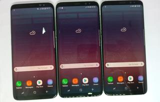 Samsung Galaxy S8 Duos G950fd Prata 64gb Original Vitrine Burn-in