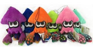 6 Peluches Splatoon Inkling Calamar Nintendo Envío Gratis