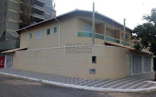 Imagem 1 de 6 de Sobrado Com 2 Dorms, Mirim, Praia Grande - R$ 360 Mil, Cod: 5534 - V5534