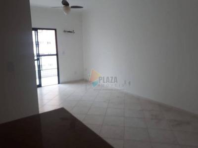 Apartamento Com 2 Dormitórios Para Alugar, 92 M² Por R$ 2.300/mês - Canto Do Forte - Praia Grande/sp - Ap10834