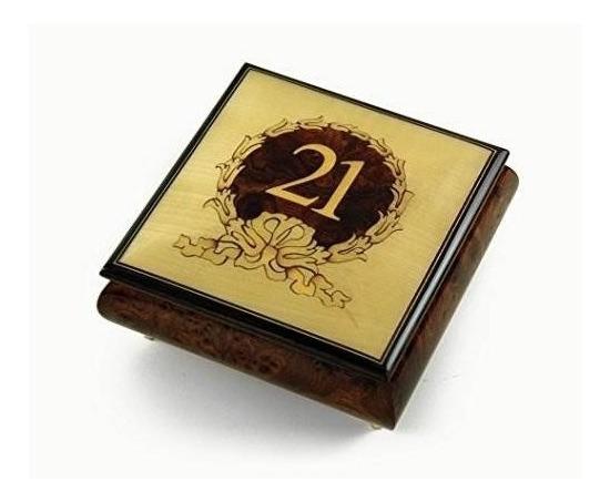 30 Nota 21 Cumpleaños Centrada En Joyero De Música De Guirna