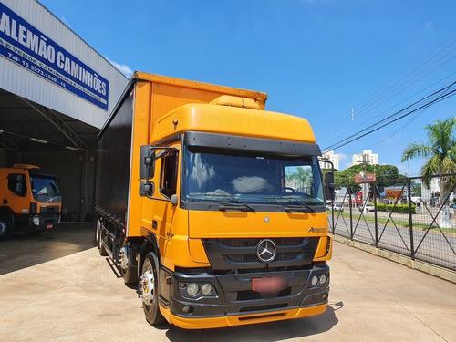 Mercedes Benz Atego 2430 4 Eixo Bau Sider
