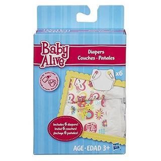 Paquete De Pañales Baby Alive (paquete De 6)