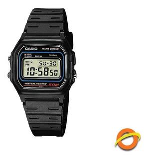 Reloj Casio W-59 Digital Sumergible Wr50 Luz Cronometro