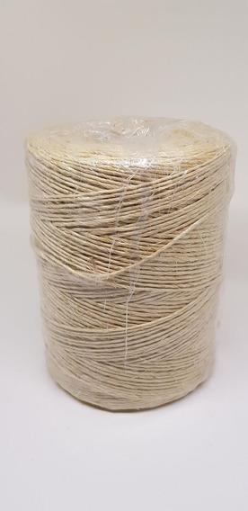 Fio Sisal 500/1 Cor Natural Com 500mts - Rolo Artesanato