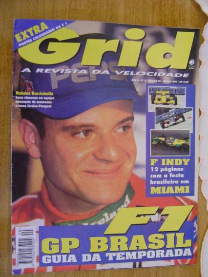 Revista Grid Guia Da F1 1995