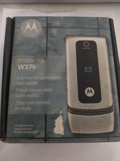 Celular Motorola W375 - Com Fone E Caixa - Venda No Estado