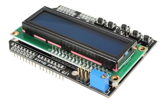 Display Lcd Keypad Shield 16x2 Para Arduino Esp8266 Esp32