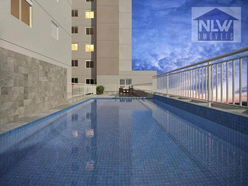 Apartamento Com 2 Dormitórios À Venda, 35 M² Por R$ 231.366,06 - Cambuci - São Paulo/sp - Ap2056