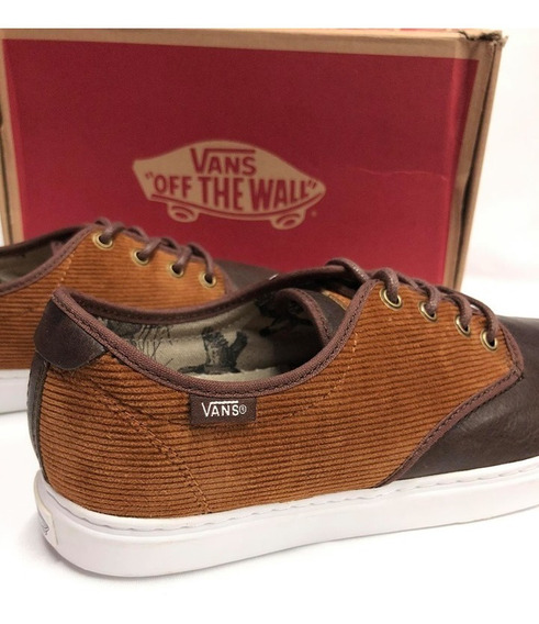 Tenis Vans Ludlow Brown Color Cafe/blanco Para Hombre