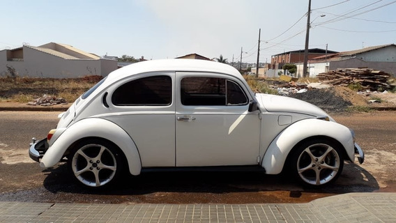 Volkswagen Fusca 1600 Branco 1978