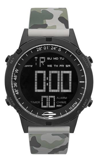 Relógio Digital Mormaii Thunder Preto Mow13901g/8c