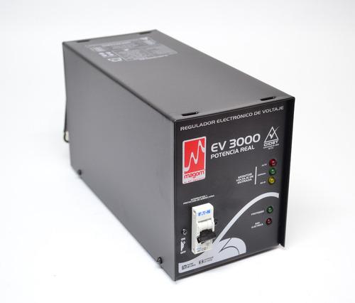 Regulador Electrónico De Voltaje Magom Ev-3000 A 110 V