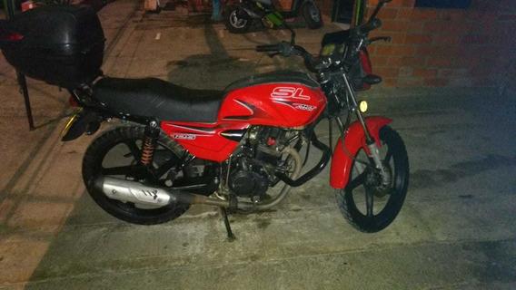 Moto Akt 125 Sl Mod. 2013 Repotenciada A 150cc.