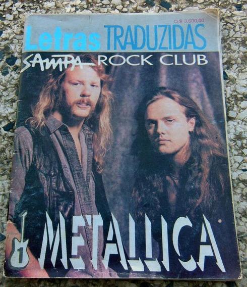 Letras Traduzidas Metallica - Rock Club - Livro De Bolso