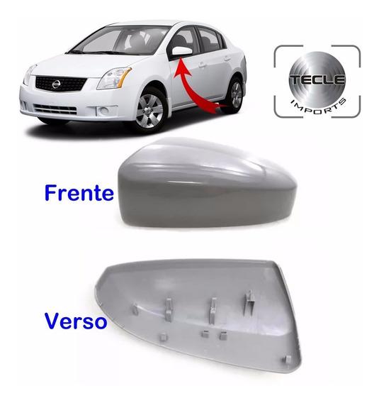 Capa Retrovisor Nissan Sentra 2007 2008 2009 Lado Esquerdo