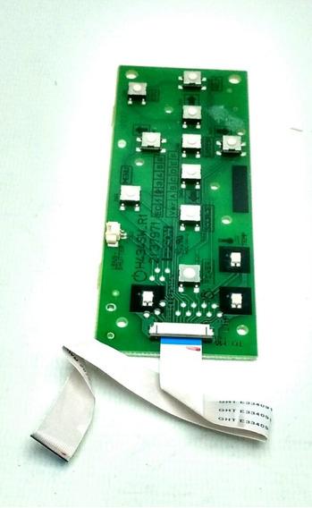 Placa Teclado Projetor Epson S12+ S10+ S11 X10+ X12+ W12+ X1