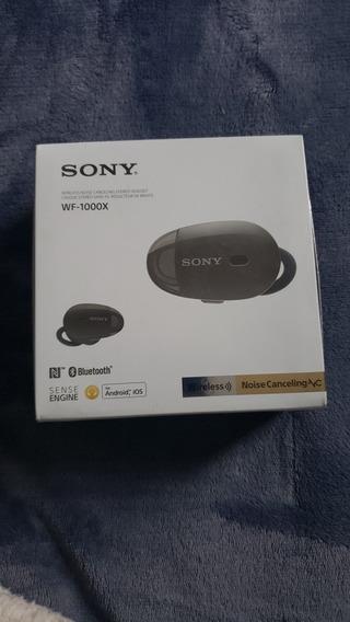 Fone De Ouvido Sony - Wf 1000x True Wireless (modelo Wf1000x